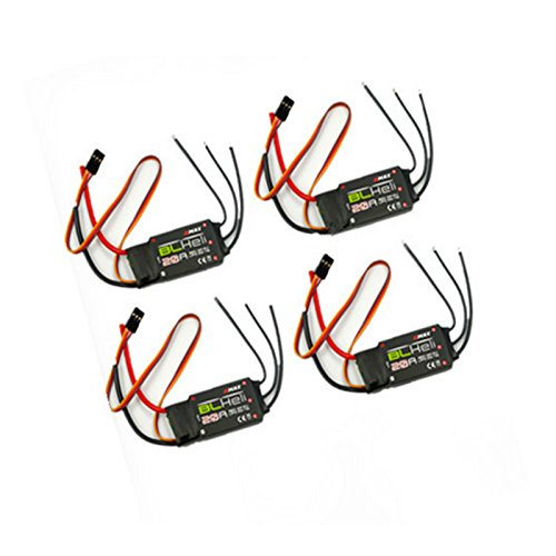 drone 4 PCS Emax BLHeli 30a Series 20A ESC Speed Controller 2A 5V BEC blheli_s for RC Multicopters