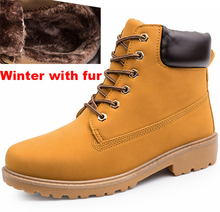 2017 Men  Casual timber boots