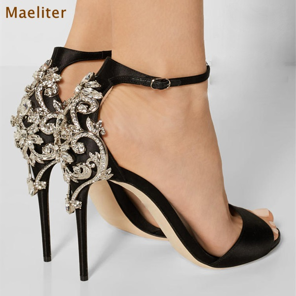 Vente en Gros chic black sandals Galerie - Achetez à des Lots à Petits Prix  chic black sandals sur Aliexpress.com 7d545189f46a