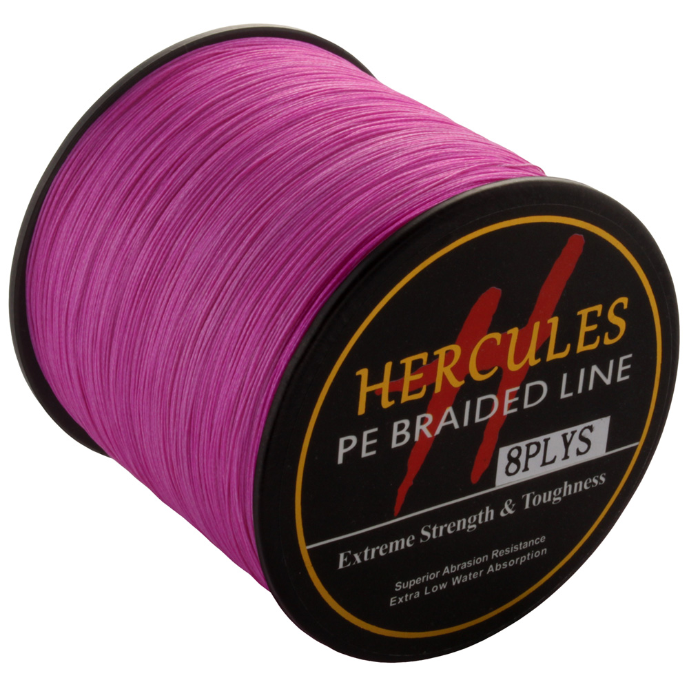 Hercules PE Braided Line for Fishing 2000M 15LB Fishing Cord tresse peche 8 Strands 0.16mm Diameter multifilamento 8 fio pesca
