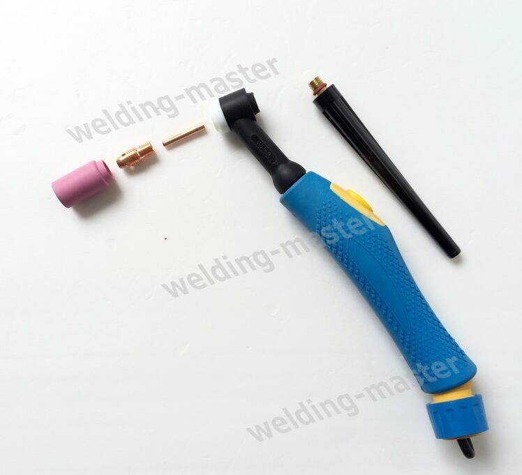 Luftgekühlte Argon Tig Taschenlampe Tig-9 Wp9 Wp-9 Taschenlampe Kopf Und Zubehör SchöNe Lustre Schweißen & Löten Supplies Dynamisch Freies Verschiffen