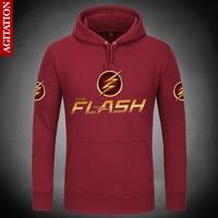 Newest Classic The Flash Hoodies Hoody Pullover Sweatshirt Marvel Comics Sport Sweatshirts Outerwear Clothes Coat