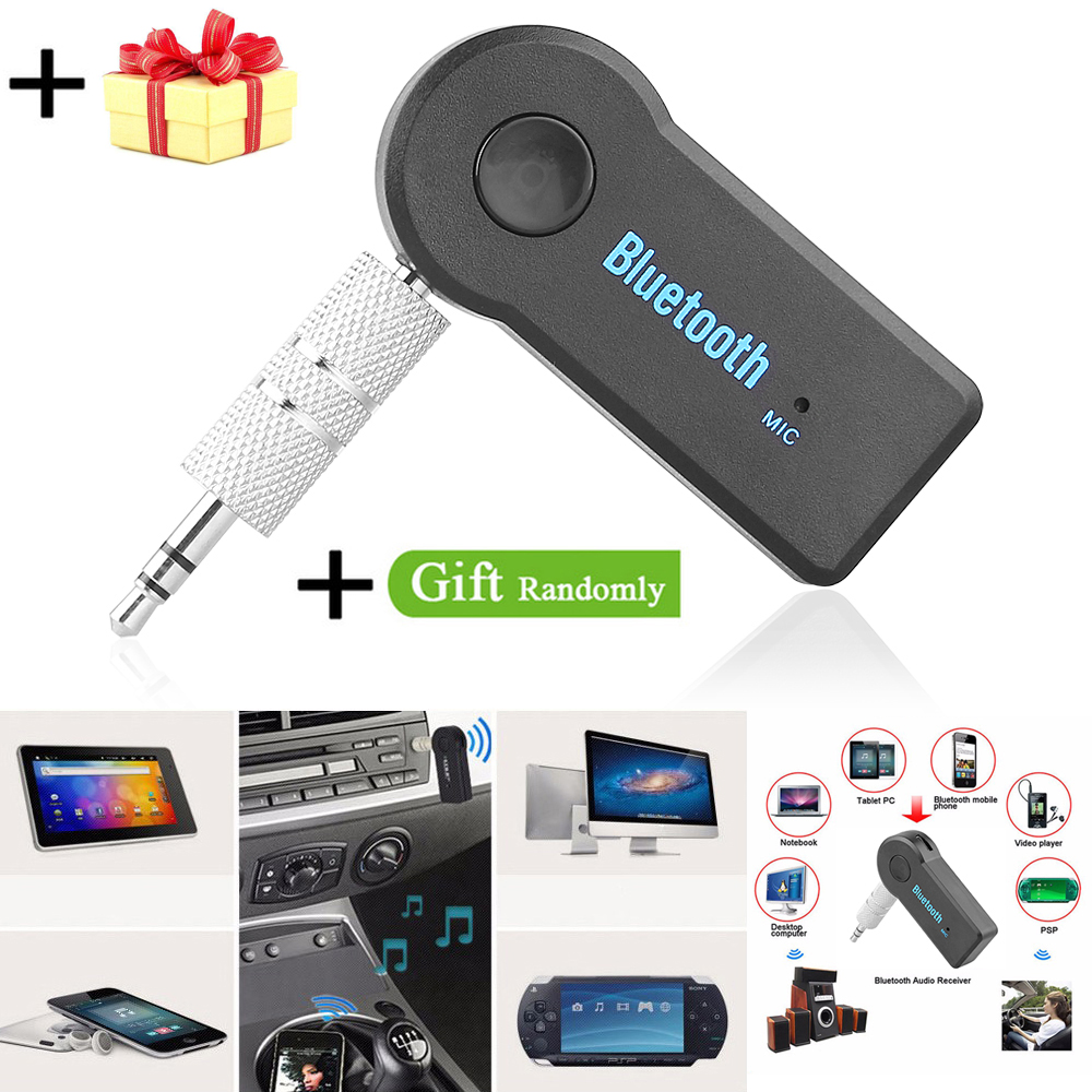 3.5mm Mini Bluetooth AUX for Car Auto Home Stereo Wireless Audio Music Receiver Adapter for Phone Tablet PC Bluetooth Car Kit bluetooth