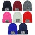 Parental ADVISORY EXPLICIT LYRICS Skullies gorritas de lana de punto sombreros para mujeres Winter Cap hombres del deporte del sombrero envío gratis
