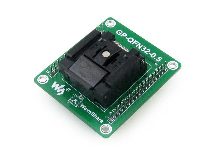 GP-QFN32-0.5-B = QFN32 MLF32 Enplas IC Test Socket Programming Adapter 0.5mm Pitch with QFN-32(40)BT-0.5-02 gp qfn32 0 5 a qfn32 mlf32 adapter enplas ic test socket programming adapter 0 5mm pitch qfn 32 40 b 0 5 02