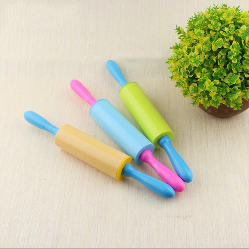 2017 New DIY Playdough Mold Rolling Pin Stick Tool Children's Toys(China)