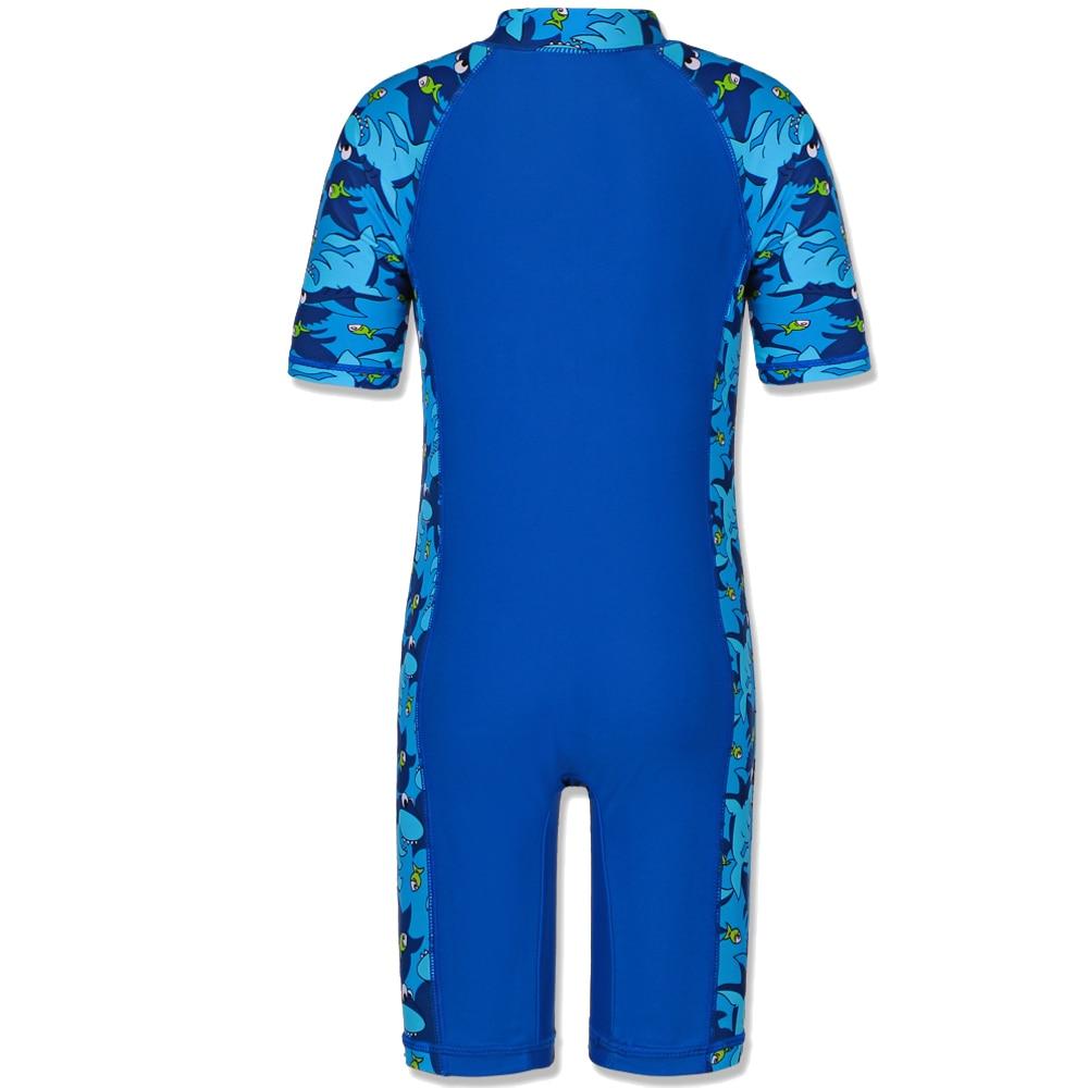 Strój kąpielowy BAOHULU Shark Character Kids (UPF50 +) Strój - Ubrania sportowe i akcesoria - Zdjęcie 2