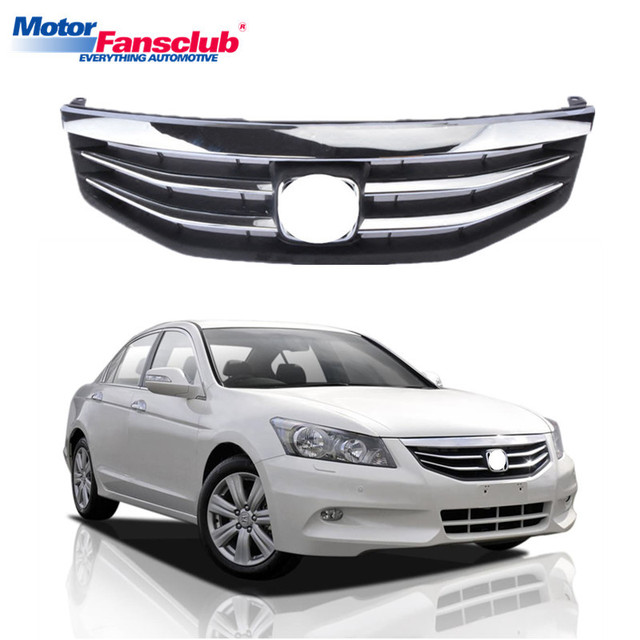 Car Racing Grille For Honda Accord Grill 8th 2017 With Emblem Radiator Auto Front