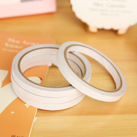 1pcs Double Sided Tape Office Stationery Double Faced Transparent Shredded Tape