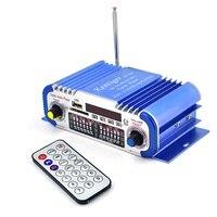 12V LED Stereo Car Amplifier Radio MP3 Speaker Sound Mode LED Audio Music Player Mini HiFi