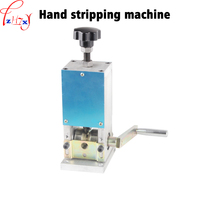 Hand motor operated draad kabel stripper machine kabel strippen machine handleiding strippen armatuur 1 st