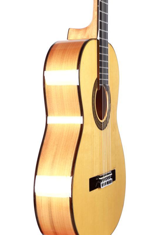 Solid Spruce / Aguadze Body + STRINGS, Klassik gitara ilə 39 - Musiqi alətləri - Fotoqrafiya 4