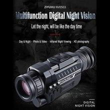 720P Digital Night Vision Goggles 5x35 Monocular HD Imaging Infrared Camera Telescope Night Viewing DV 2019 New Arrival