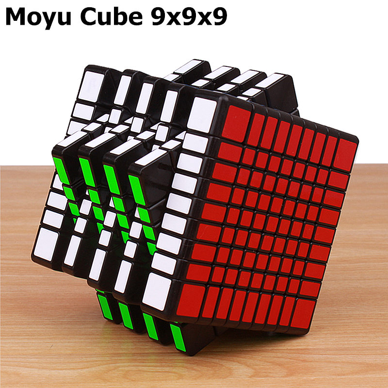 Moyu MF9 9x9x9 magic speed cube stickerless professional cubing classroom puzzle cubes 9 layer educational toys for children brand new shengshou 92mm plastic speed puzzle 9x9x9 magic cube educational toys for children kids