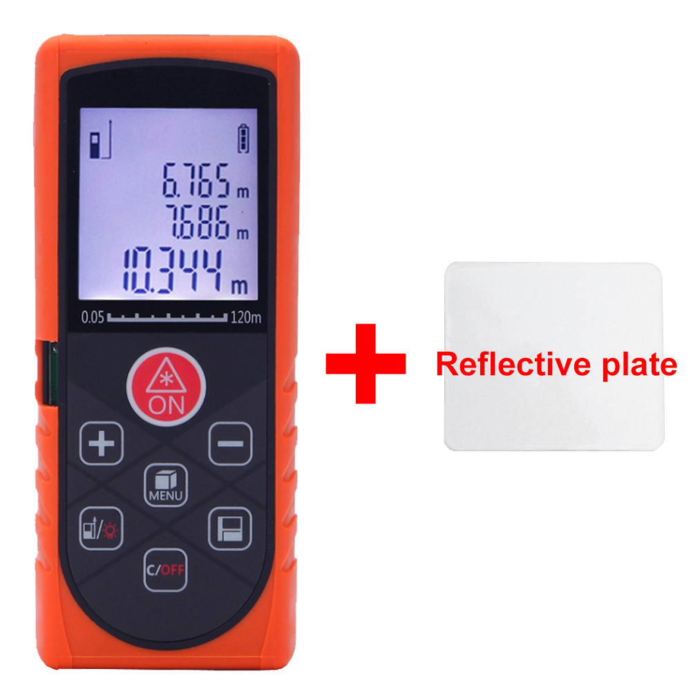 Q-MODEL 120M 150M Laser Distance Meter Digital Electronic Handheld Precision 2mm Rangefinder Tape measure Portable Area/volume portable d100 100m electronic digital laser power tape measure