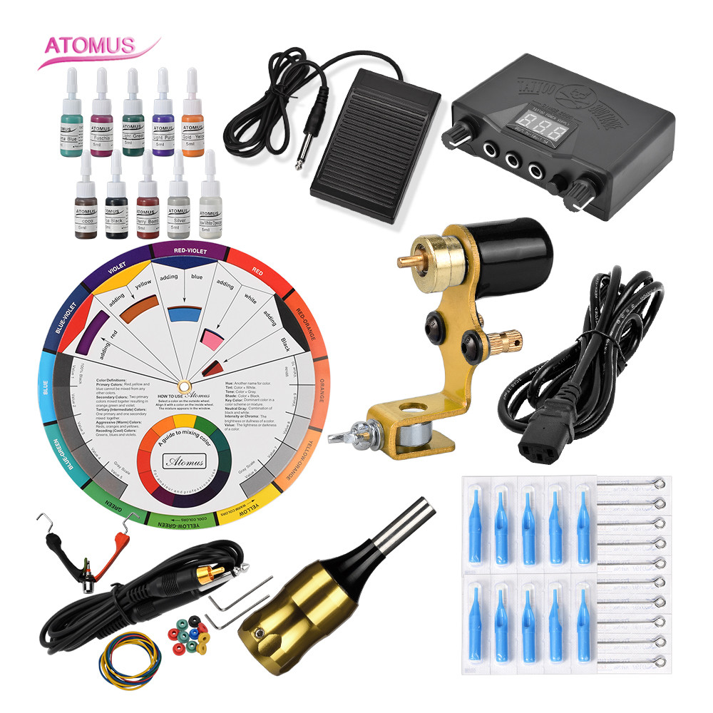 Professionnelle Maquina Para Tatuar Rotativa Tatoo Pen Set Tatto Tatuagem Tatouage Rotative Maquinas De Professional Machine KitProfessionnelle Maquina Para Tatuar Rotativa Tatoo Pen Set Tatto Tatuagem Tatouage Rotative Maquinas De Professional Machine Kit