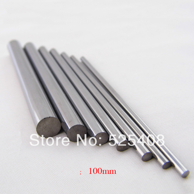 High Quality Tungsten Round Mill Carbide Anium Bar 3x100mm Length In Good