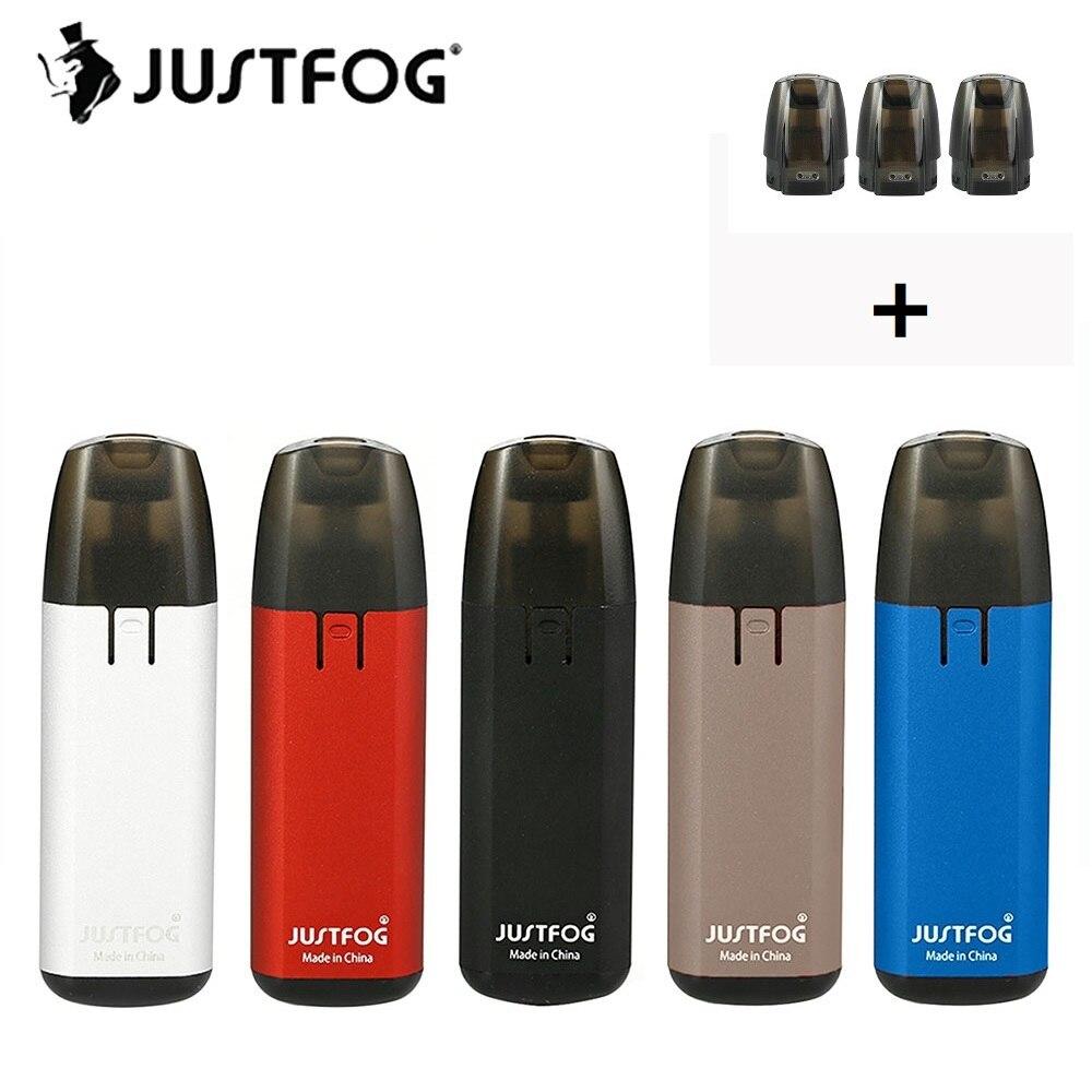 Original 370 mah JUSTFOG MINIFIT Starter-Kit mit 1,5 ml Pod Patrone 1.6ohm Spule & Konstante Spannung Ausgang 370 mah batterie E-cig