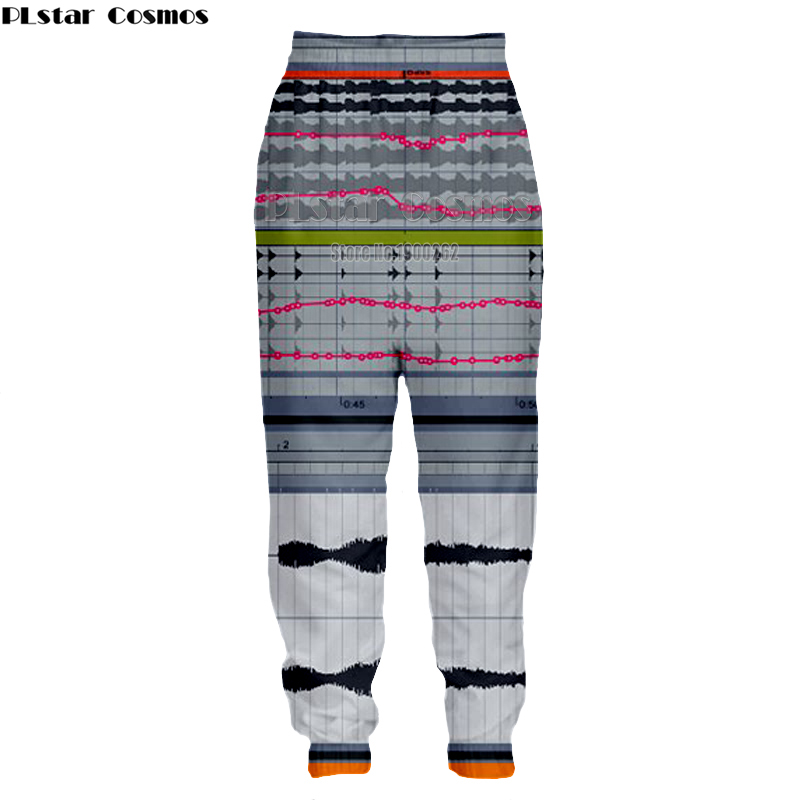PLstar Cosmos Ableton live New style Brand Popular Fashion Mens Womens casual Pants 3D Print joggers Pants Plus size S-5XL