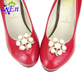 shoes clips decorative shop Shoe accessories shoe clip crystal rhinestones charm metal material N519