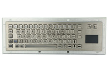 Metal Keyboard with Touchpad Metal Mechanical Keyboard military keyboard