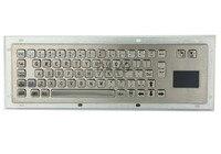 Metal Keyboard with Touchpad Metal Mechanical Keyboard military keyboard