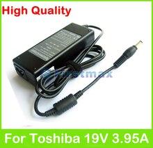 75 Watt 19 V 3.95A AC netzteil für Toshiba Satellite E206 L310 L311 L312 L315 L317 L322 L323 L331 L332 L40 L401 ladegerät