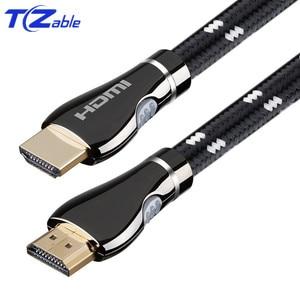 Image 5 - HDMI 2.0 4K Cavo Nero HD Video Cavi Placcati Oro 3D Cavo 1M 1.5M 2M 3M 5M 8M 10M Cavo HD per HDTV Splitter