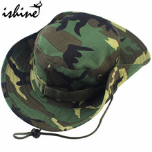 Camouflage Sunscreen Hats Brim