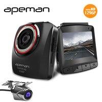Apeman C650 2.4 inch LCD Ambarella A7LA50 1296P Car Dash Cam DVR Video Recorder Full HD Rear View Parktronic Camcorder Camera