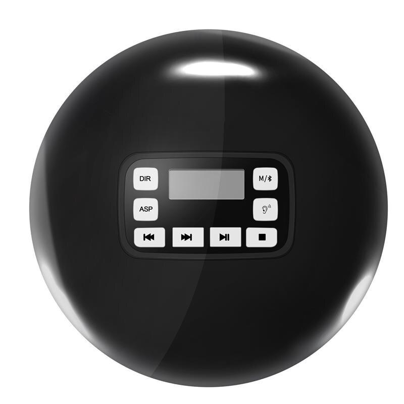 Lecteur CD Portable Bluetooth avec affichage de LED/prise casque Anti-saut Protection Anti-choc lecteur de disque de musique CD personnel