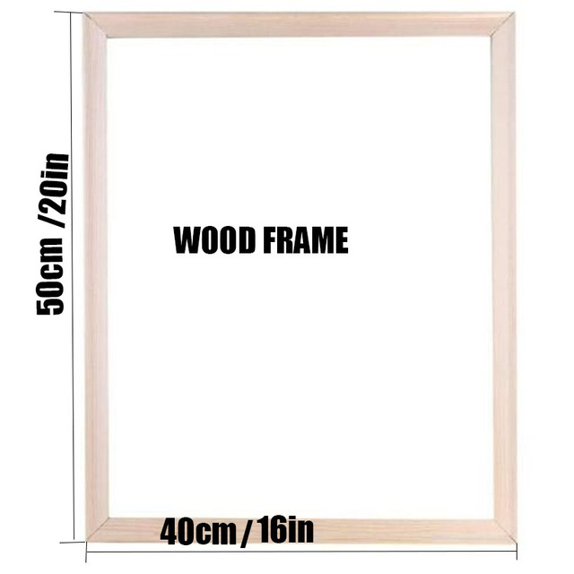 Canvas Frame Wooden Frames Wooden Photo Oil Painting Canvas Diamond Painting Frames Wall Art Canvas Diy Poster Drop Shipping
