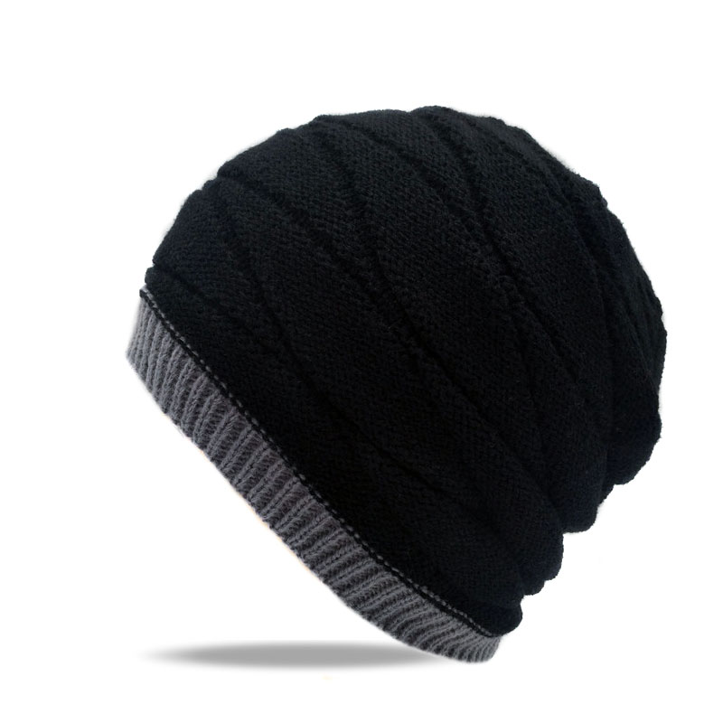 2017 Winter Ski Cap Knitted Hats Gorros Knit Skullies Snowboard Hats For Men Women Skating Ski Caps Warm Beanies Fur Hat unisex men women skiing hats warm winter knitting skating skull cap hat beanies turtleneck caps ski cap snowboard hats