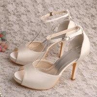 Super Quality Wedding Bridal Shoes Sandals Roman China High Heels With Pump