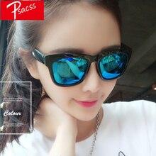 Psacss Square Sunglasses Women Men Womens Sunglass Luxury Brand Designer High Quality Anti-Reflective oculos de sol feminino