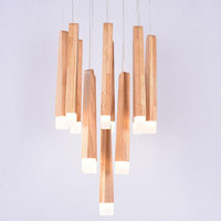 Led Wood Chandeliers New Arrival Hot Luxurious European Chandelier Lighting Lampadari Light Modern Led Chandelier