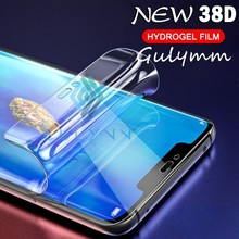 Screen Protector on the For Huawei P20 P30 P Mate 20 30 Lite Pro Honor 20Pro 20i 10 19 New 38D Curved Soft Hydrogel Film