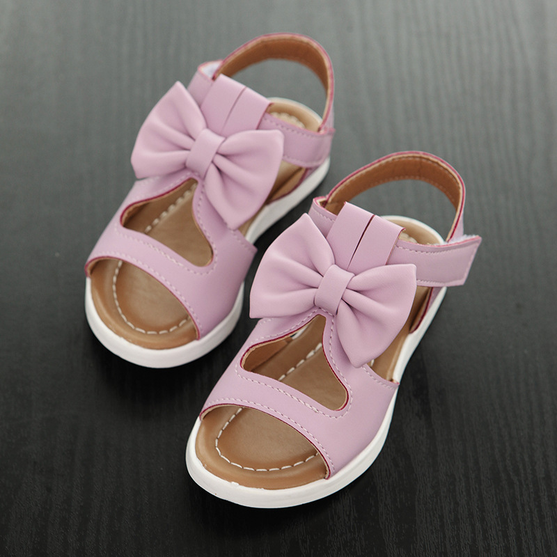 Fashion Baby Shoes Summer Beach Outdoor Sandals Kid Girls Princess Toddler Shoes