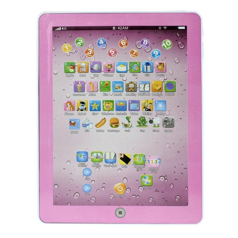 Ребенок touch Тип компьютер Планшеты английского языка исследование машина игрушка леверт челнока отличный подарок Июнь 26