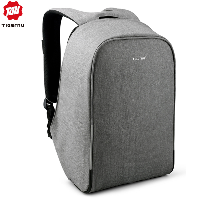 Tigernu Anti Theft 15.6inch Laptop Backpacks With Rain Cover Casual Hard Shell Men Women Mochila School Bags For Teenagers