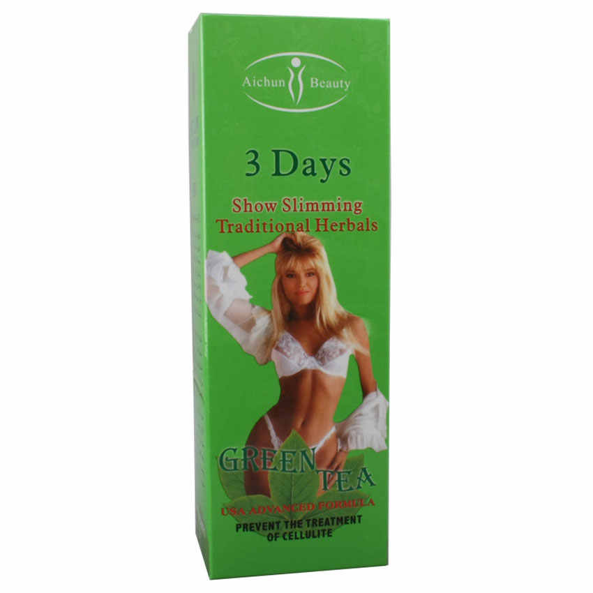 Slimming stomach cream, fat burning cream for weight loss, anti-cellulite oil for weight loss, green herbal tea, 3 days, 200ml