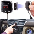 2016 New Arrival Wireless Bluetooth Car MP3 Player LCD Screen Car Kit  Support FM Transmitter USB SD Remote Handsfree #ET504
