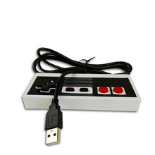 ViGRAND 1pcs Basic Retro Wired USB Sport Controller For Nintendo NES JoyStick For NES Controle For Home windows PC for MAC Gamepad