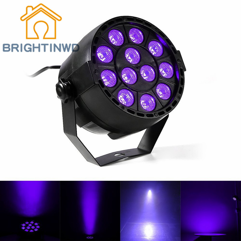 BRIGHTINWD LED Stage Lights Flash Effect Bar DJ Disco Ball Magic Crystal Ball Laser Projector Music KTV Party Spotlight 3w rgb led projector dj light disco ball led par crystal magic ball bar party xmas effect stage lights free shipping