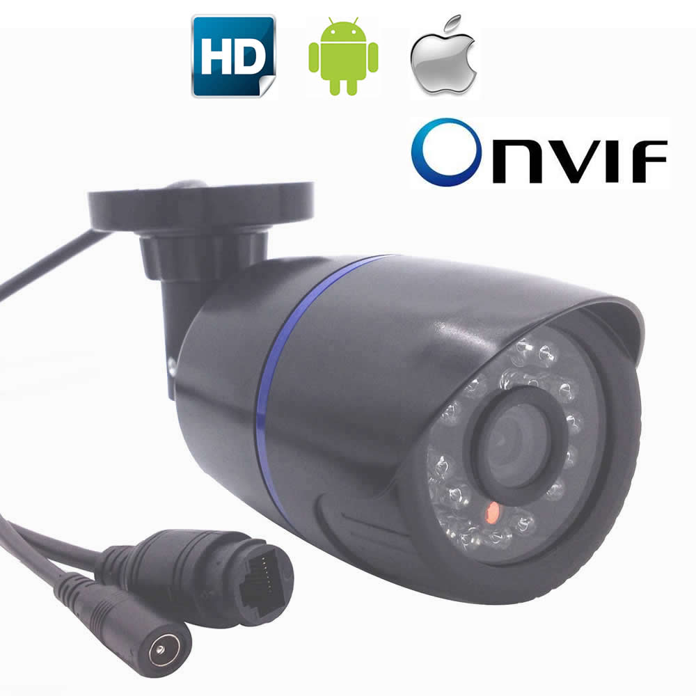 IP Camera Waterproof 24PCS LED P2P ONVIF 1080P Outdoor Security Surveillance Camera IRCUT Night Vision Network