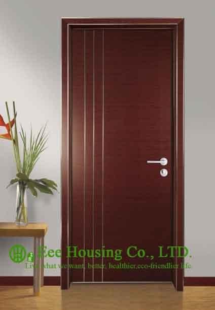 Simple Style Aluminium Office Doors, Aluminum Alloy Water Resistance Interior Office Door