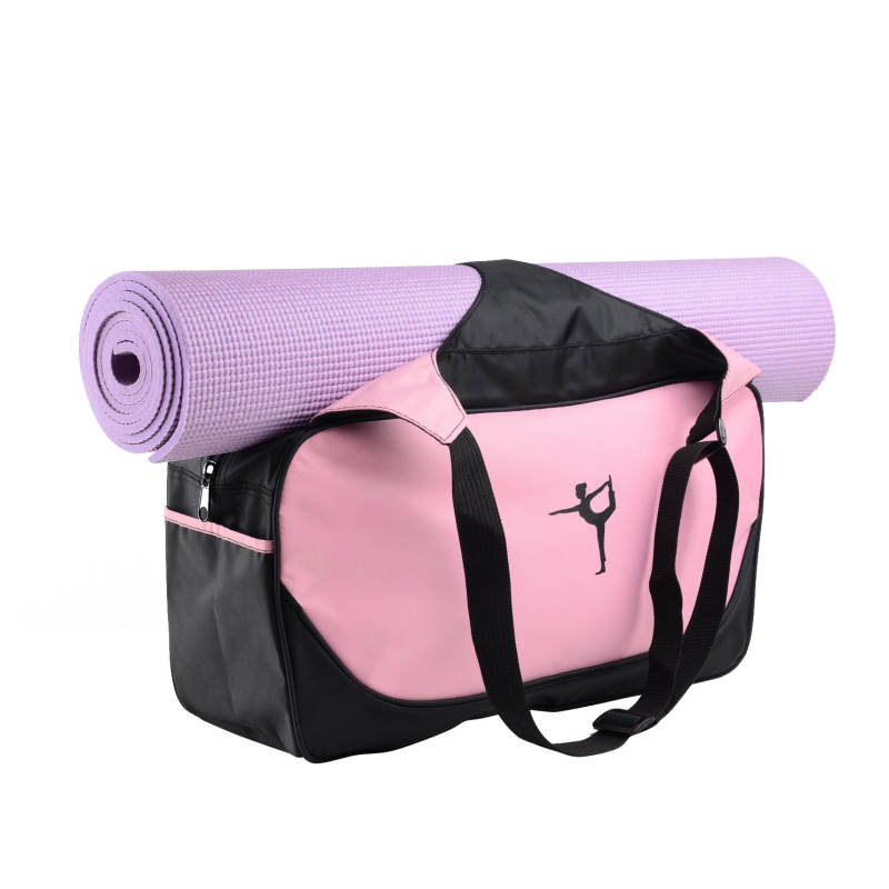 2018Multifunctional Waterproof Yoga Bag Gym Mat Nylon Backpack Shoulder Messenger Carriers Yoga Pilates Mat Bag without