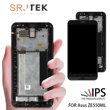 Original Tested 1280x720 For ASUS Zenfone 2 ZE550ML LCD Touch Screen with Frame Digitizer For ASUS Zenfone 2 ZE550ML LCD Display