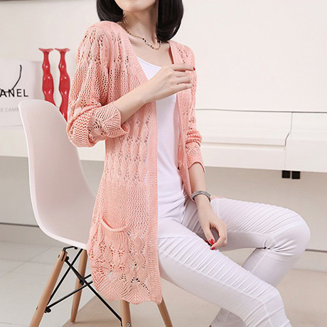 Sweaters 2017 women fashion Summer Cardigan heart Long Sleeve ...