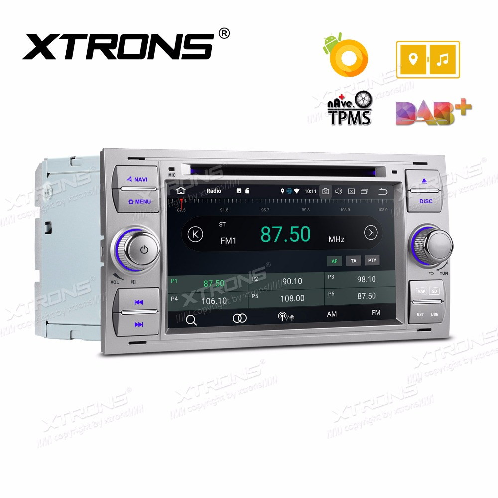 "7"" Android 8.0 Octa Core Car Stereo DVD Player Radio GPS Navigation for FORD Focus II C-Max 2005 2006 2007 Fusion Transit"